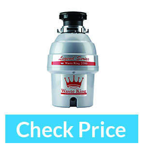 Waste King L-3300 ¾ HP Continuous Feed Garbage Disposal