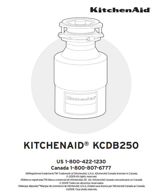 KitchenAid KCDB250G installation
