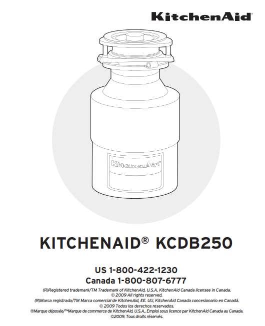 KitchenAid KCDB250G installation