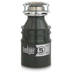 InSinkErator Badger 5 Garbage Disposal 1/2 HP Food Waste Disposal Unit