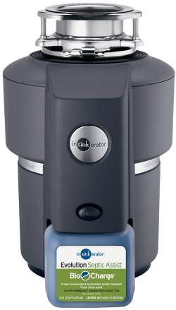 InSinkErator Evolution Septic Assist Garbage Disposal, 3/4 HP Septic Disposal