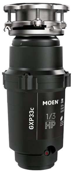 Moen GXP33C GX PRO Series One-Third HP Garbage Disposal