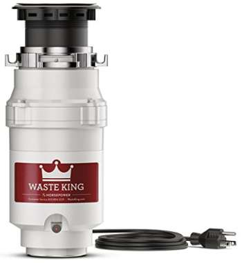 Waste King Legend Series Garbage Disposal with Power Cord - L-111