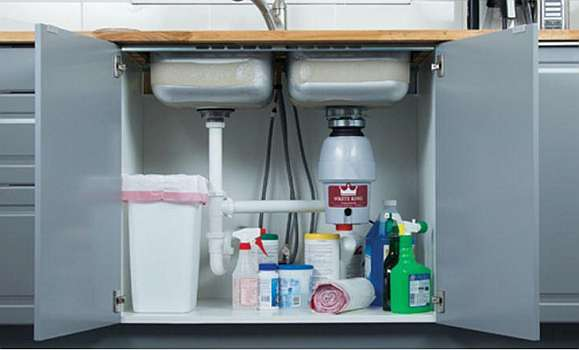 WasteKing L-2600 installed under sink